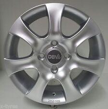 4 Stück DBV Lappland Alufelgen 5,5*14 ET44 4/100 Silber Honda Civic 3219119