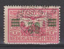 Nederlands Indie 12 CANCEL KARANGANJAR Netherlands Indies luchtpost airmail 1930