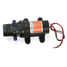 RV Marine Boat 12V 1.2GPM 35PSI Water Pressure Diaphragm Self Priming Pump