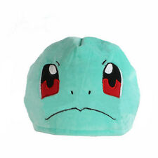 Cute Pokemon Squirtle Hat Plush Soft Cosplay Costume Cap
