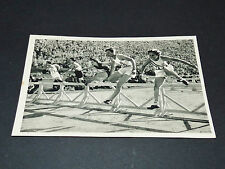 LOS ANGELES 1932 J.O. OLYMPIC GAMES OLYMPIA 80 M HAIES BABE DIDRIKSON USA