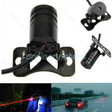 Car Red Laser Fog Rear Anti Collision Safety Taillight Warning Signal Light Lamp