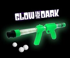Glow in the Dark Moon Blaster Gun Ping Shooter Plastic Ball