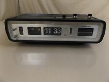 Vintage Panasonic National  RC6551 AM/FM/AFC Flip Snooze Alarm Clock Radio WORKS