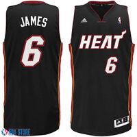XL Lebron James #6 Heat Jersey official Nba jersey