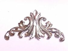 8 x 60mm Decorative Metal FILIGREE CORNERS Wedding Invitation Stick On Toppers