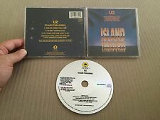 U2 ISLAND TREASURES CD WITH OR WITHOUT YOU/IN GOD'S COUNTRY/11 O'CLOCK TICK TOCK