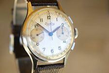 OUTSTANDING 1945 BREITLING PREMIER 789 VINTAGE CHRONOGRAPH WATCH SERVICED VENUS