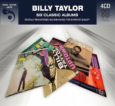 Billy Taylor SIX (6) CLASSIC ALBUMS With Four Flutes IMPROMPTU New Sealed 4 CD