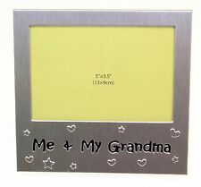 Me & My Grandma Photo Picture Frame Gift 5 x 3.5