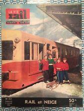 LA VIE DU RAIL n 435 du 21 Fev 1954 - Rail et Neige