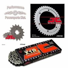 SUZUKI DR650 JT SPROCKETS & JT X1R X-RING CHAIN SET/KIT 15/42 96-16
