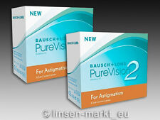PureVision 2HD for Astigmatism (Toric)  2×6 Stück - Neu&OVP