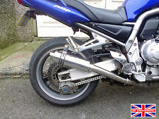 Yamaha FZS1000 Fazer  00-05 Demon Slash Polished Stainless Stubby Exhaust