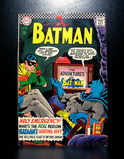 COMICS: DC: Batman #183 (1966), 2nd Poison Ivy app - RARE (flash/justice league)
