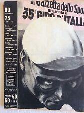 IL CICLISMO 1952 NUMERO UNICO SPECIALE 35° GIRO D' ITALIA COPPI MAGNI BARTALI ..