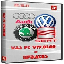 ODIS 3.0.3 + VASPC 19.01.01 4 x DVD software Set