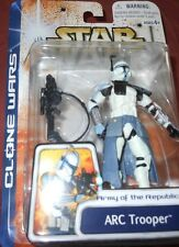 "Hasbro STAR  WARS  ARC TROOPER  ARMYof the REPUBLIC yr.2003  33/4"" Action Figure"
