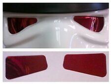 Mirror Film Lenses in RED Colour compatible with Stormtrooper Costume Helmets