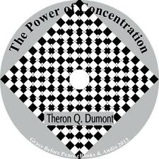 The Power of Concentration Theron Q Dumont 20 Mind Lessons Audiobook 4 Audio CDs