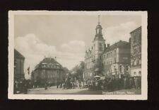 Germany STOLLBERG I. ERZGEB Market Markt 1942 RP PPC feldpost & censor