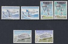 BELGIUM : 1960 Parachuting set SG 1726-31 MNH