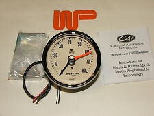 Classic Mini-SMITH 'S REV COUNTER Tachimetro in MAGNOLIA 0 - 8000 RPM-gae130m