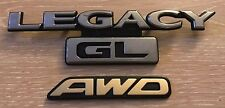SUBARU LEGACY GL AWD rear badge emblem logo (C38)