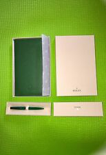 Rolex Pen Wallet & Rolex Note Pad