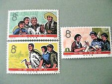 PRC China SC#1275-7 1976  May 7 School Stamps MNH