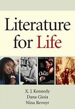 LITERATURE FOR LIFE X J Kennedy Paperback &E-TEXT Book English ONLINE Free Ship