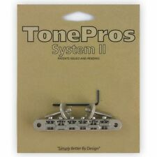 TonePros Tune-o-matic guitare pont ABR-1 pour Gibson Les Paul chrome