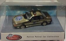 1991 Ford Mustang Special Service Police Package GOLD COLOR WHITE ROSE 1:43