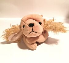 1997 Vintage original TY Beanie Babies collection Plush Toy Spunky terrier dog.