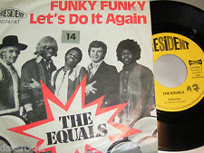 """7"""" - Equals / Funky Funky & Let´s do it again # 0327"""