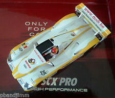 NEW SCX PRO Audi R8 #25 Livery (White Plastic) Body for Replacement or Paint