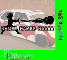Kame Hame Ha Son Goku JDM Sticker Aufkleber oem Power fun like Shocker Hater