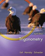 TRIGONOMETRY by Lial, Hornsby Schneider EIGHTH EDITION HARDCOVER