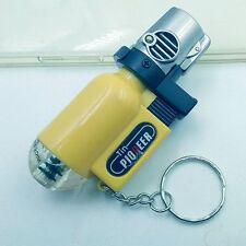 New Outdoor mini torch lighter / transparent gas gun torch straight wind Guns