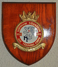 1015 Horsham Squadron Air Training Corps plaque crest shield ATC RAF Cadets