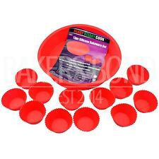 BBC Ready Steady Cook Round Circular Cake Mould & 12 Silicone Cupcake Cases Pan