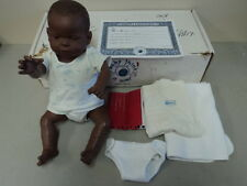 REALCARE REALITYWORKS BABY THINK IT OVER G4 BABY BOY AFRICAN AMERICAN BLACK DOLL