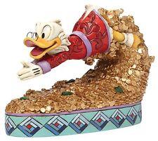 Disney Traditions Treasure Dive Scrooge McDuck Figurine Ornament 12.5cm 4046055