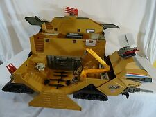 GI JOE G.I. JOE COMAC BASE COMMAND MOBIL CENTER VINTAGE 95 % COMPLETE hasbro