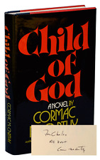 Cormac McCarthy-CHILD OF GOD (1973)-1ST ED, INSCRIBED COPY, FINE/VERY GOOD+