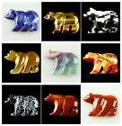 0504 Carved Kinds Of Stone Bear Pendant bead
