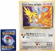 Pokemon Articuno, Moltres, and Zapdos Jumbo Card Near Mint Fast Shipping!