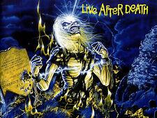 "3.25"" Iron Maiden Live After Death STICKER. Eddie Killers Number of the Beast"