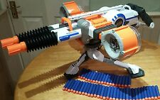 Nerf Elite Rhino fire machine gun + 50 darts & batteries tested fully working.