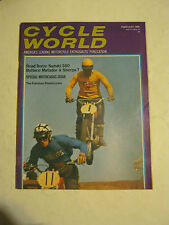 February 1969 Cycle World Magazine, Special Motocross Issue (BD-51)